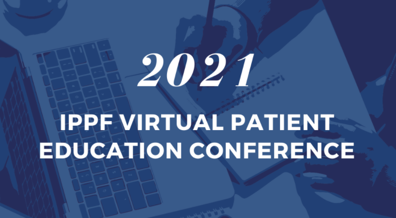 2021 IPPF Virtual Patient Education Conference Image