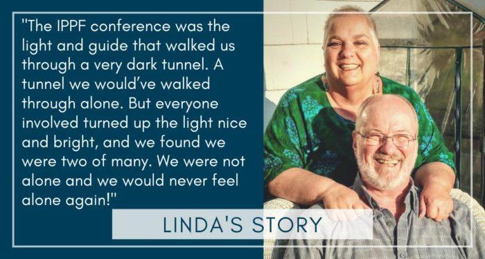 Imagen de Linda sigue en pie (serie de viaje del paciente # 8)