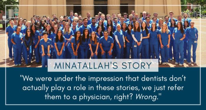 Imagen de Minatallah encuentra su papel como estudiante de odontología (serie de viaje del paciente # 7)